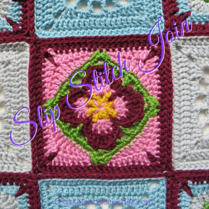 Slip Stitch Joins